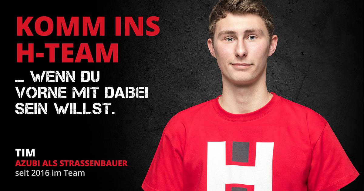 Komm ins H-Team